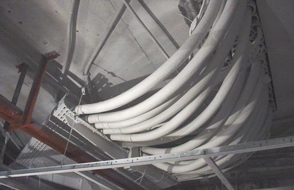 Огнезащита кабельных линий