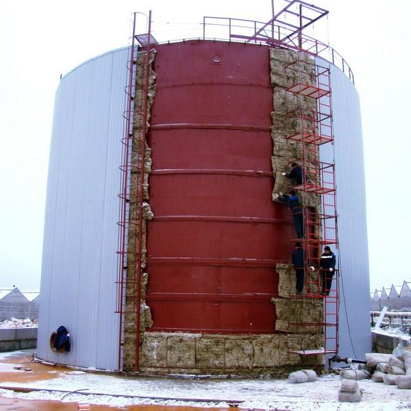 Огнезащита и теплоизоляция резервуаров